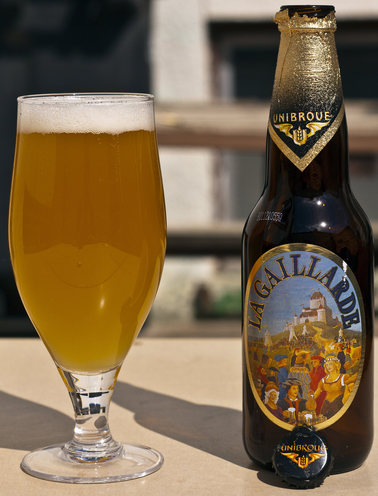 Review: Unibroue La Gaillarde (Belgian Pale Ale) by Cody La Bière