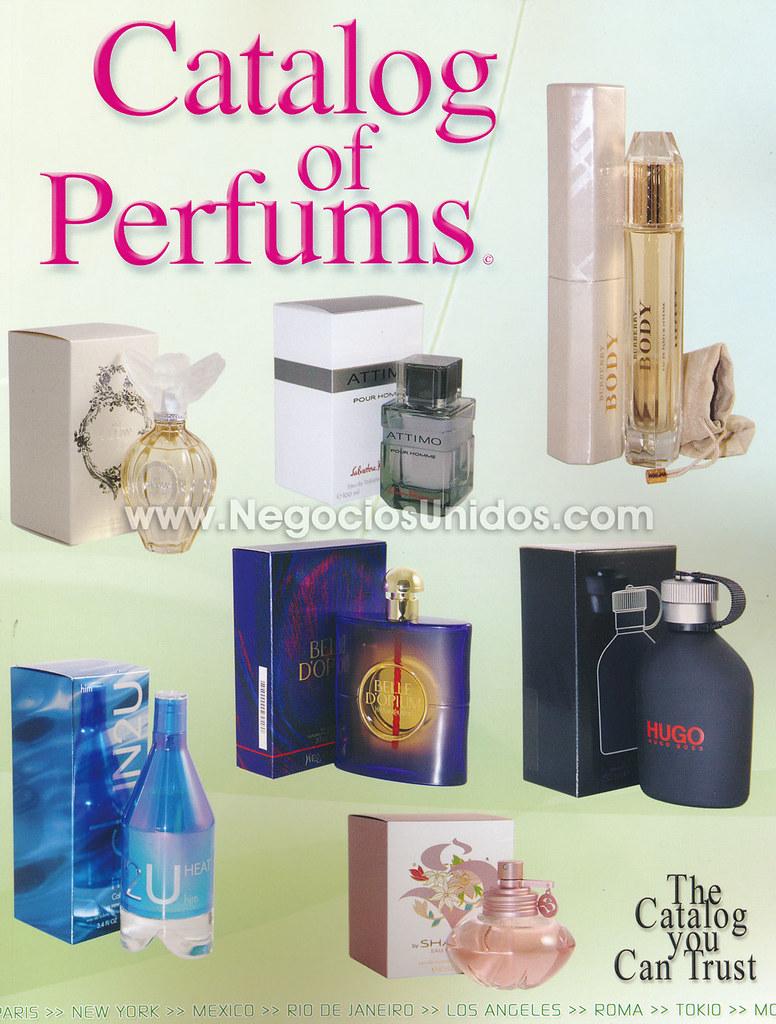 venta por catalogo perfumes