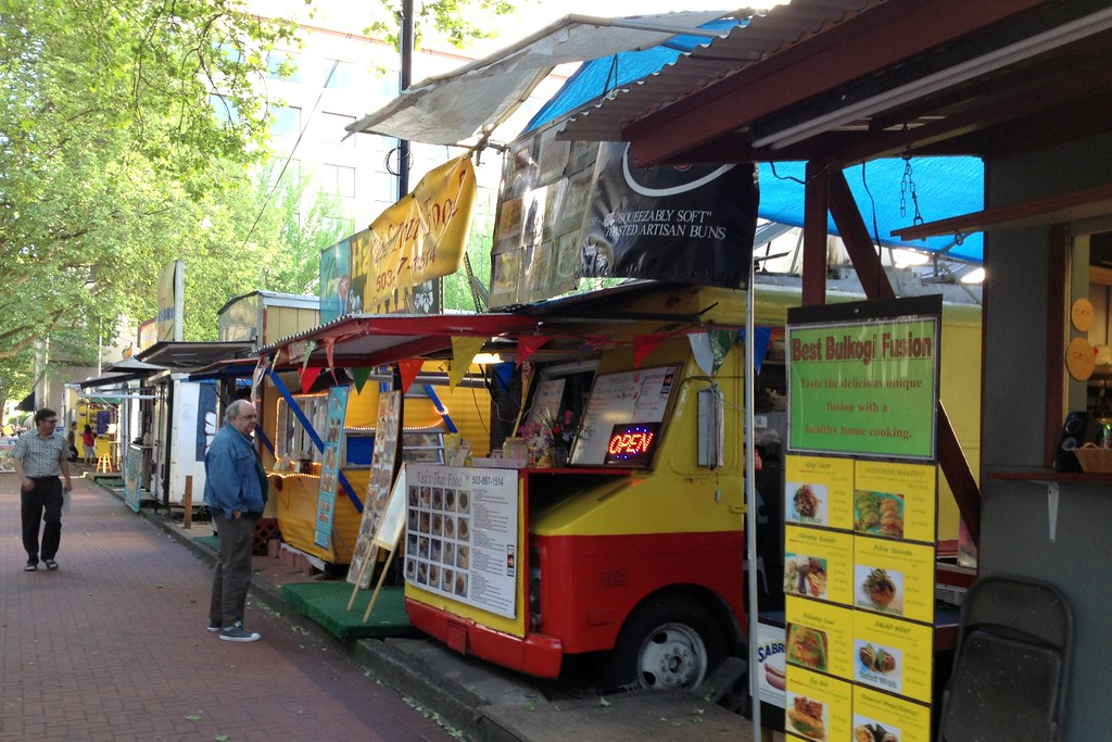 Food Carts Portland Trucks