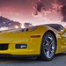 Yellow Z06 with a touch of Top Gear