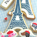 paris themed cookies