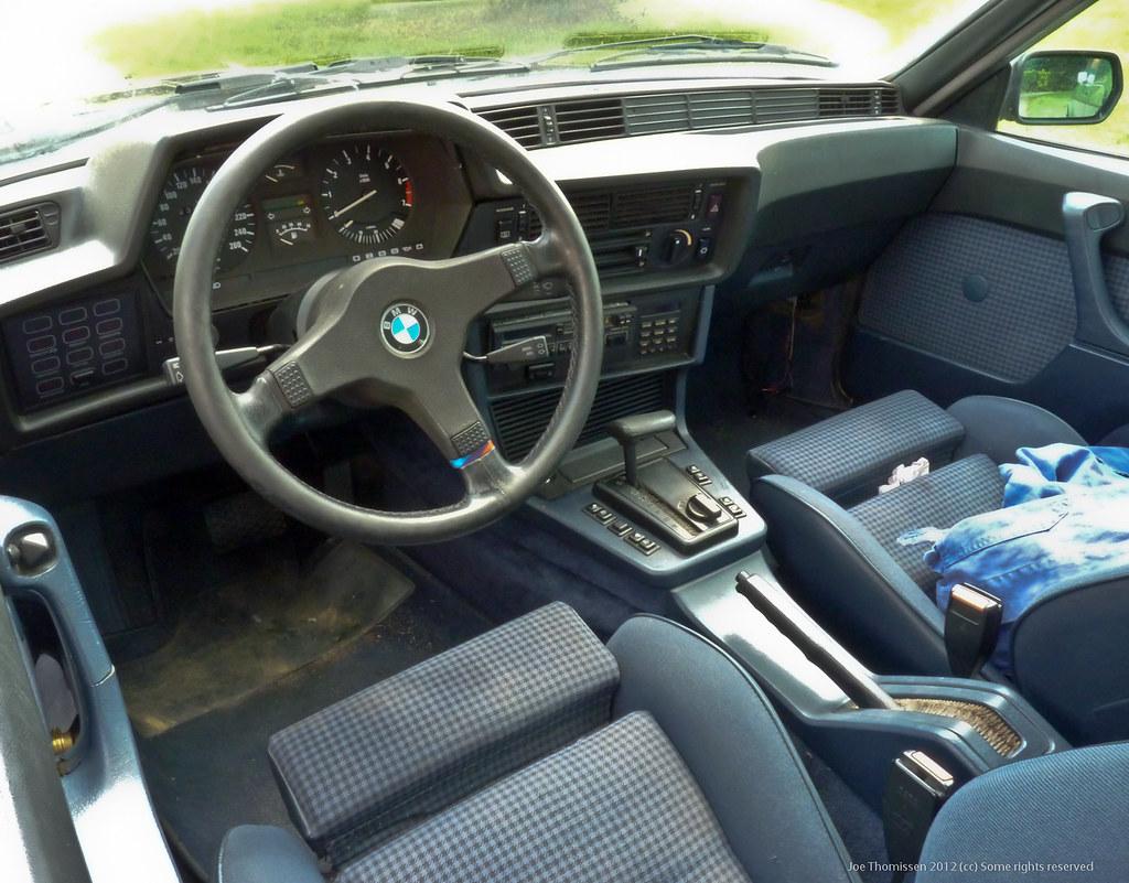 Interior BMW 630 CS (1976) | Joe Thomissen | Flickr
