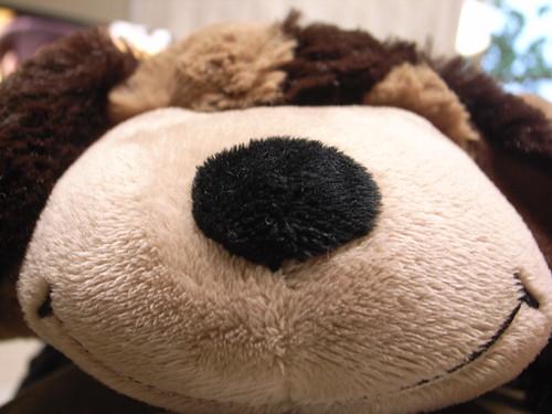 Stuffed Dog Toy  Scarf