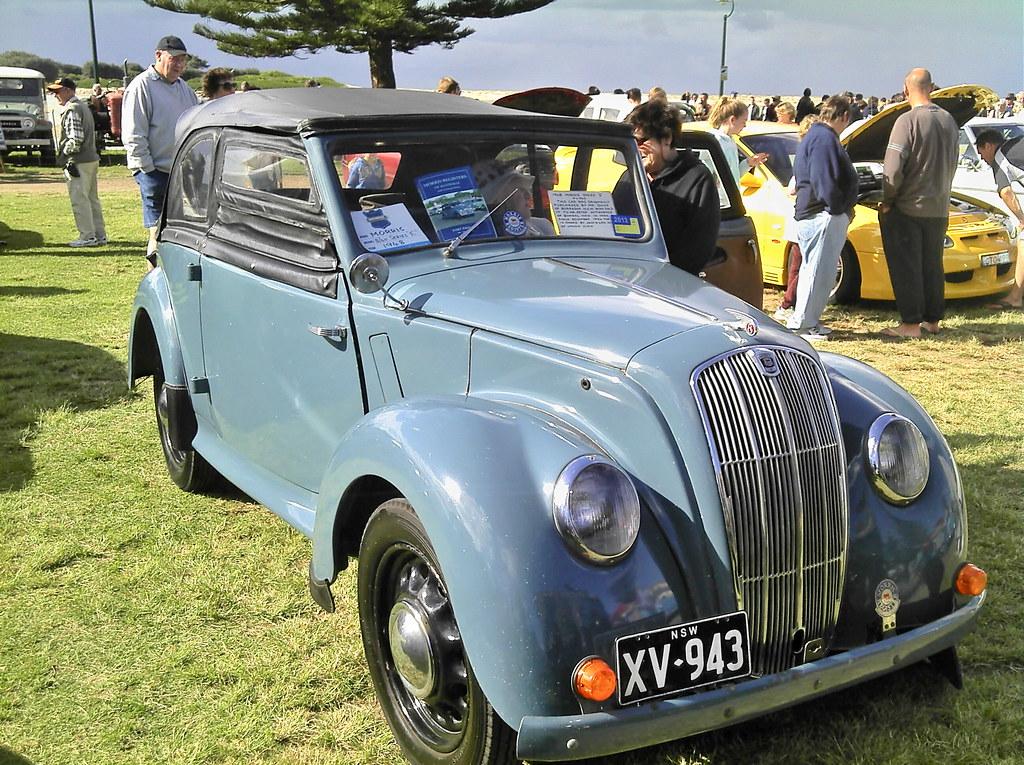 1948 Morris 8 40 E Series Roadster Rare 1948 Morris 8 40