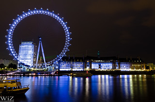 London Eye with the Shard | by wizzer2801