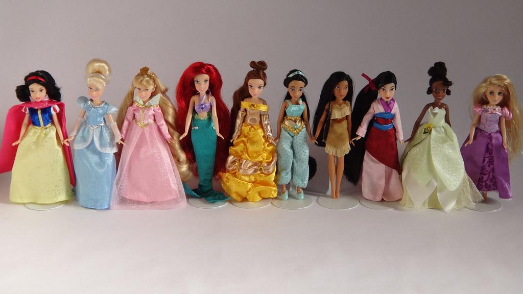 Disney Parks Mini Princess Dolls 2011 Unboxed Snow Whi