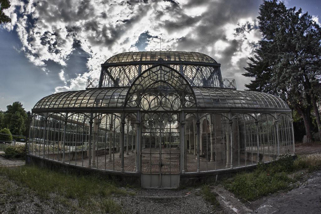 La serra del giardino dell 39 orticultura la serra - Giardino dell orticoltura firenze ...