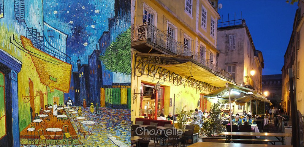 Vincent Van Gogh Cafe Terrace at Night Cafe Terrace at Night Van