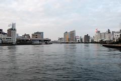 The Sumida River at the Downstream Side of Shin-ohashi