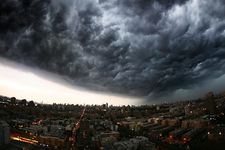 Scary clouds over New York City! | by Orangeadnan