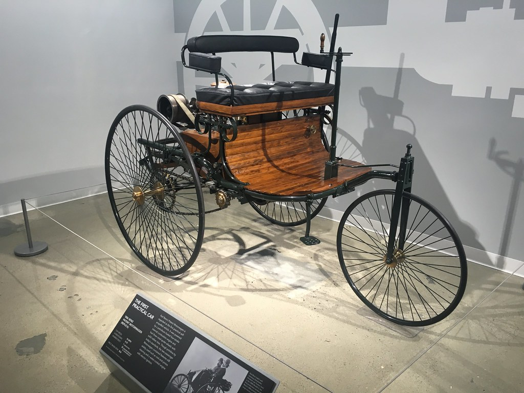 Petersen Automotive Museum | The First Practical Car: 1886 B… | Flickr