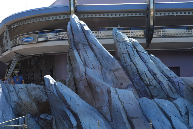 Tomorrowland Rocks New Paint Job