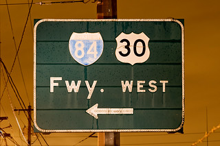 Fwy. West | by Curtis Gregory Perry