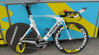 Roman Kreuziger's Specialized Shiv – SRAM RED-2012 – Bike used for the Giro Prologue (8.7km ITT stage) | by SRAM Road Diaries