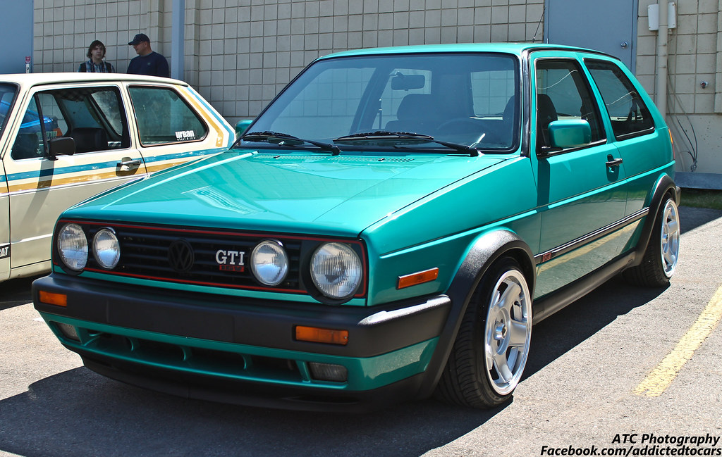 Volkswagen Golf Gti Mk2 An Incredibly Clean Example Of A