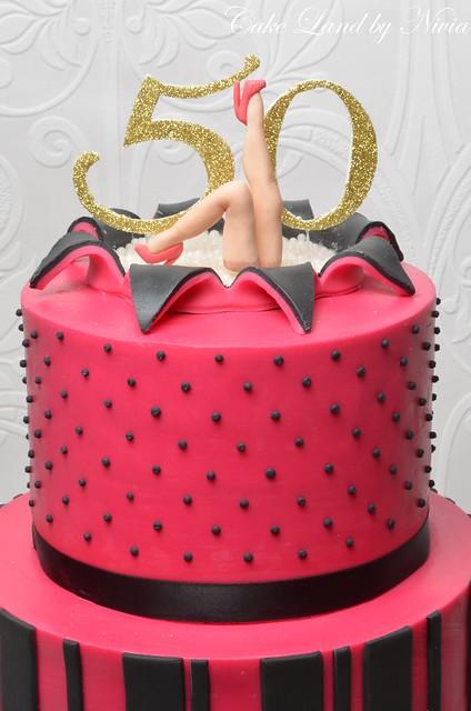 50th birthday cake Flickr - Photo Sharing!
