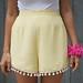 diy pom pom shorts 1