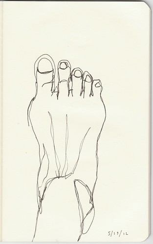 contour foot | by cblanchette01