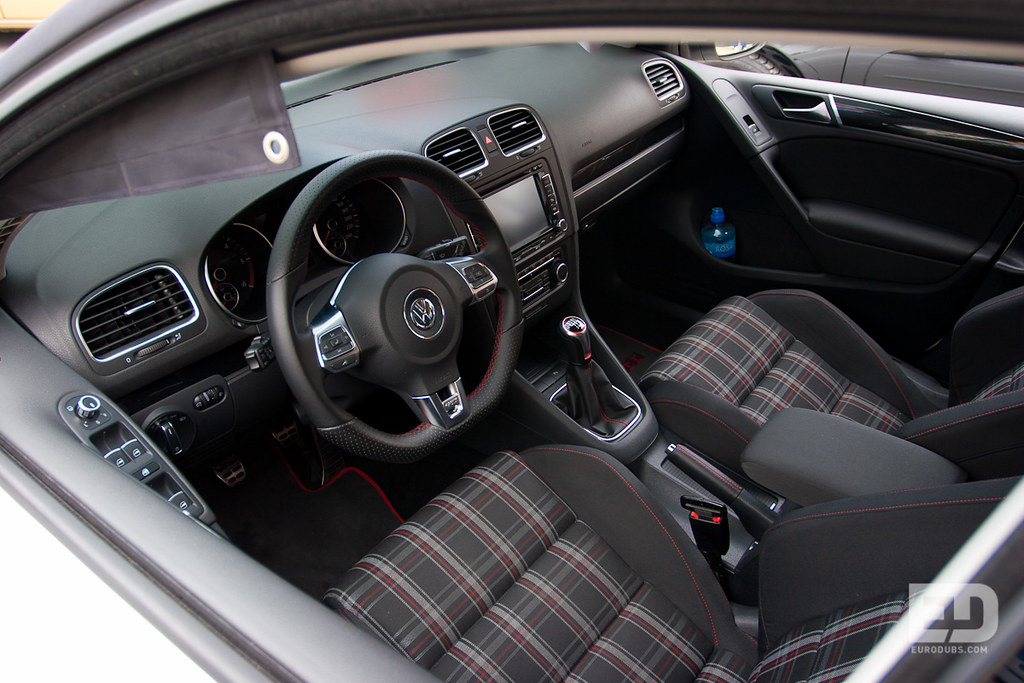 Vw Golf Mk6 Gti Interior Eurodubs Com Flickr