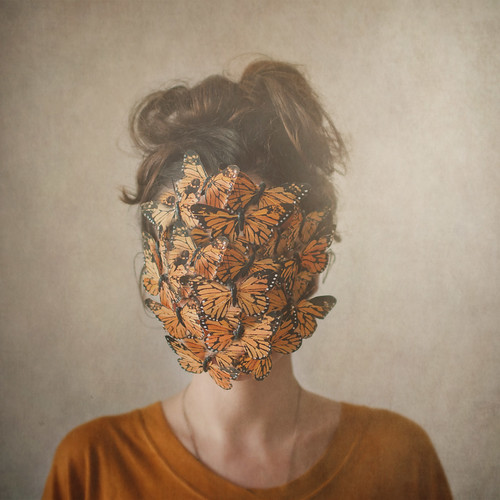 Orange, or the return of the lady with the butterflies | by Ana Luísa Pinto [Luminous Photography]