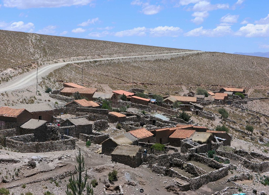 Pueblito Cerca De Yunchara Departamento De Tarija Bolivi
