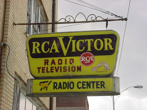 RCA Victor sign | by roadsidequest