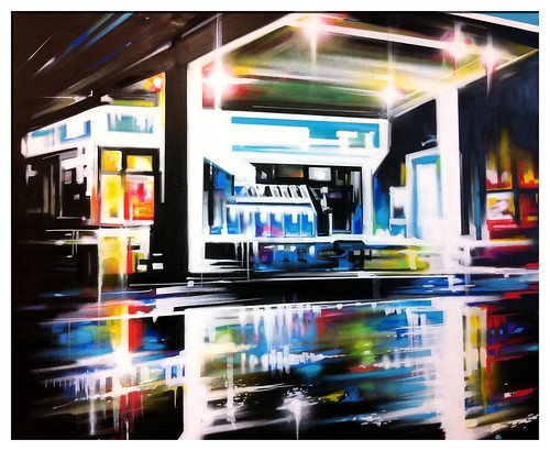 'Transitional' - painting on canvas | by Dan Kitchener - DANK