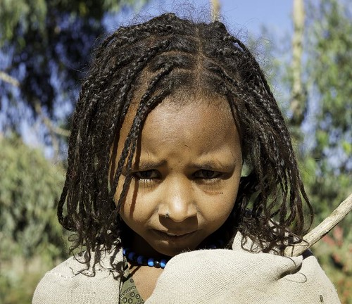 Young girl amarha. Ethiopia | by courregesg