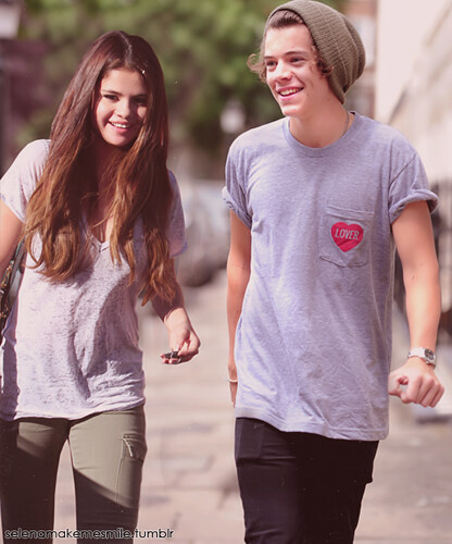 harry styles and selena gomez manip | excuse me while i ...