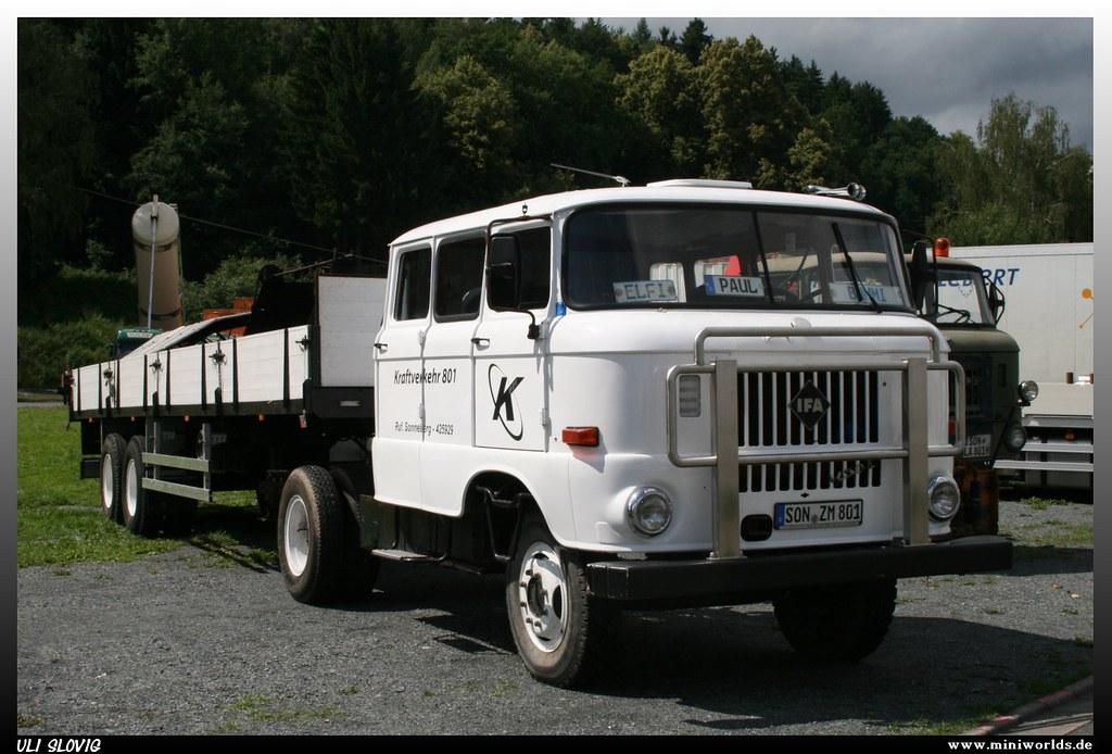 """Ifa Truck Pics Hd: IFA W 50 L """"Kraftverkehr 801"""""""