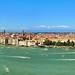 Venetian Lagoon in the Adriatic Sea