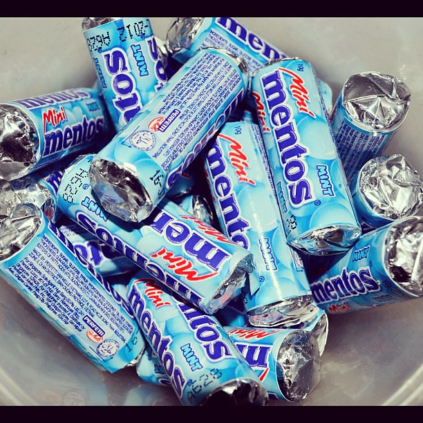 Mentos Mini Mints Mini Instagram Mint Gum