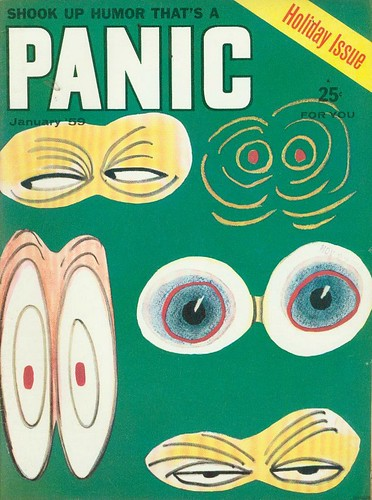 PANIC MAGAZINE JANUARY 1959 | by THE ENIGMATIC TRAVELER