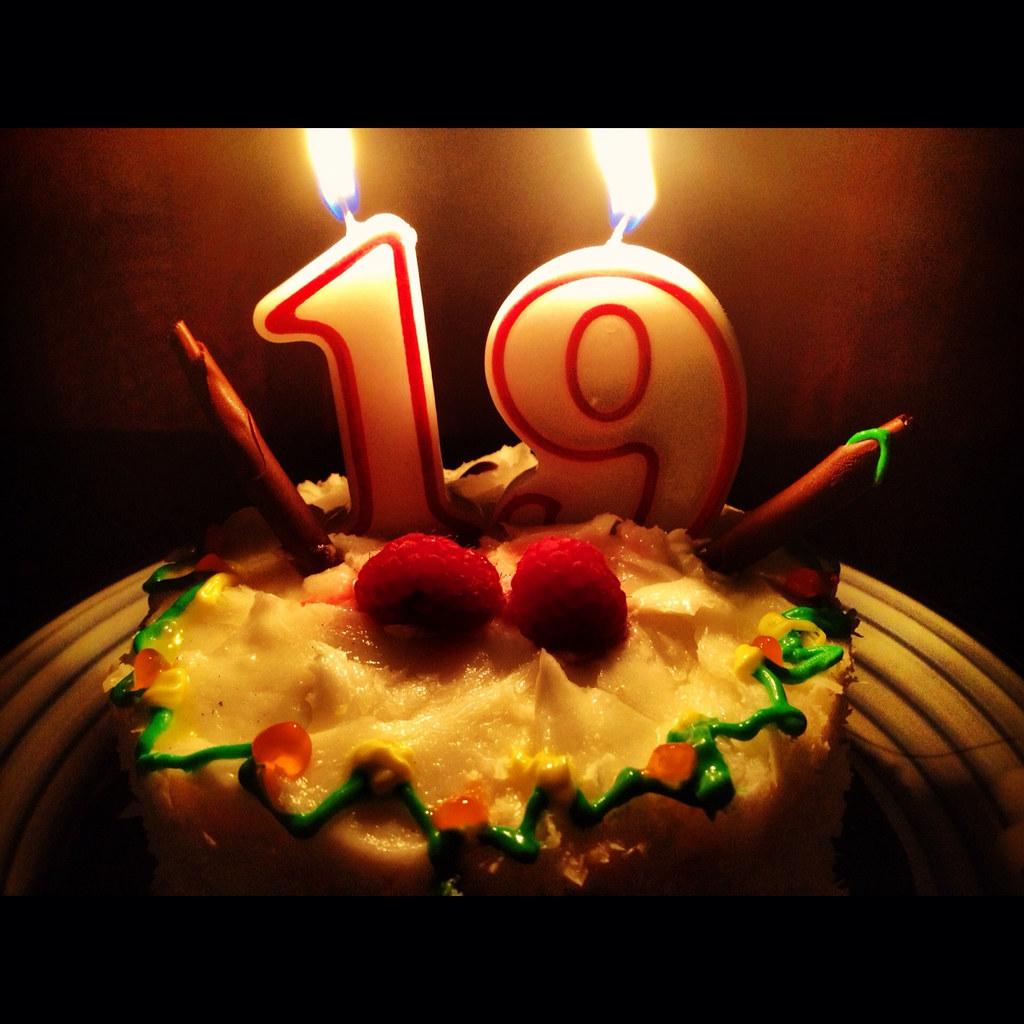 19th Birthday Cake Photo 19th Birthday Cake Photo Flickr
