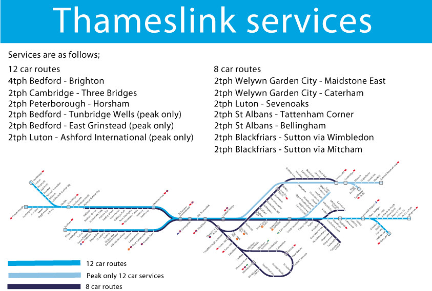 Thameslink 2018 Services Based On The Jacobs