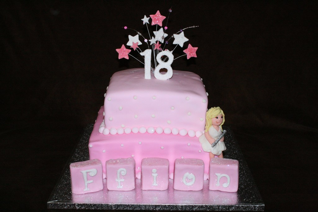 18th birthday cake eldriva flickr for 18th birthday cake decoration