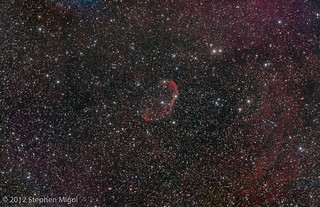 NGC 6888 - Crescent Nebula Revisited | by S Migol