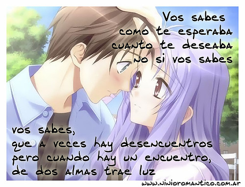 7 Imagenes Anime Frases De Amor Love Romance Copia Cop Flickr