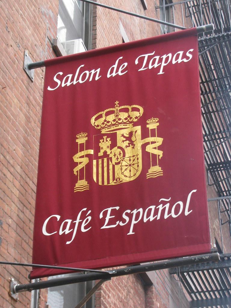 Cafe Espanol Bleecker Street