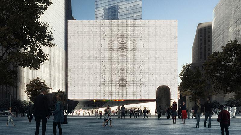 Центр исполнительских искусств на Манхэттене от REX