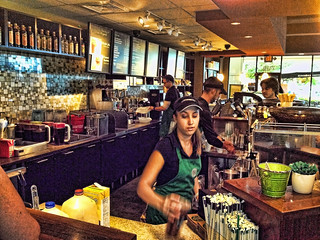 Starbucks Barista Making Drinks | by MarkGregory007