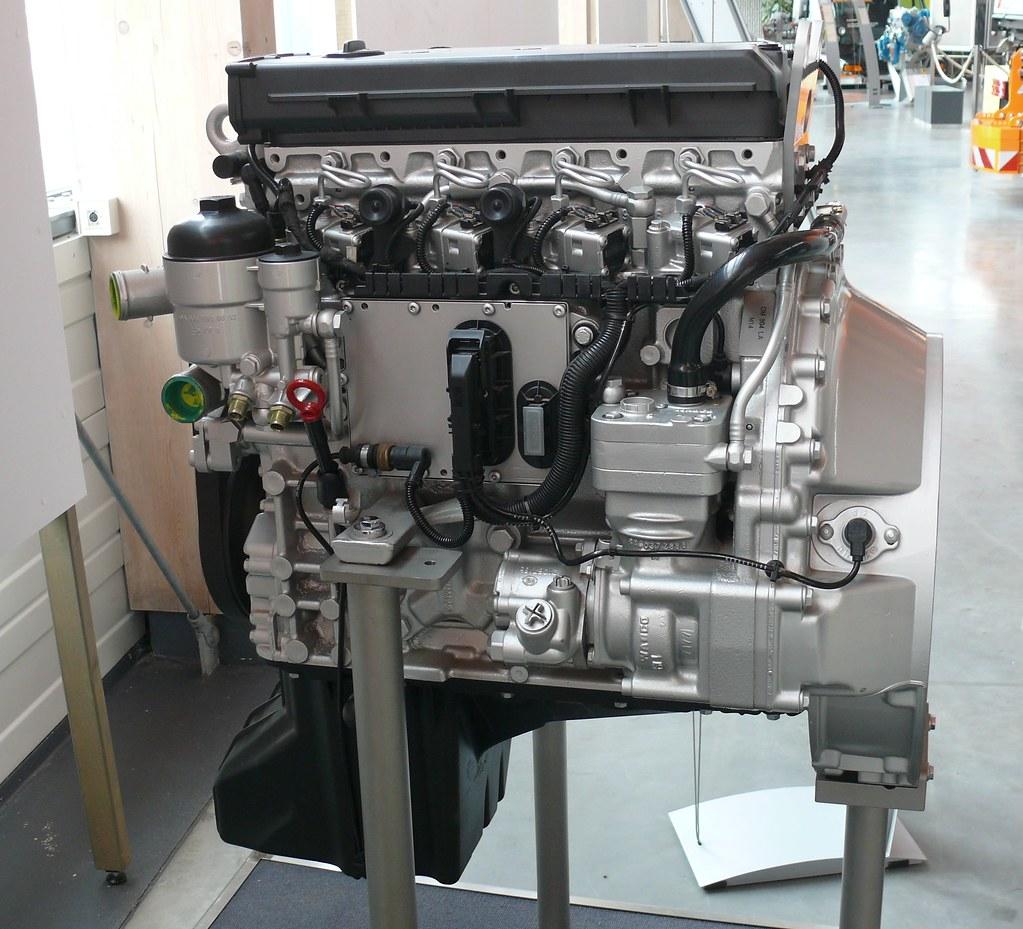 Mercedes Benz Om 904 La Engine L Stkone Flickr