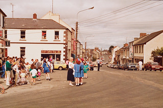 Main Street, Belturbet, Co. Cavan, 1990 | by National Library of Ireland on The Commons