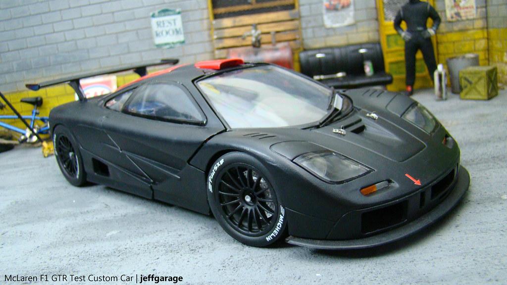 Mclaren F1 Gtr Test Custom Car Diecast 1 18 Scale By Ut