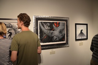 'Wild At Heart: Keep Wildlife In The Open' opening night at Thinkspace (May 26, 2012) | by thinkspace_gallery