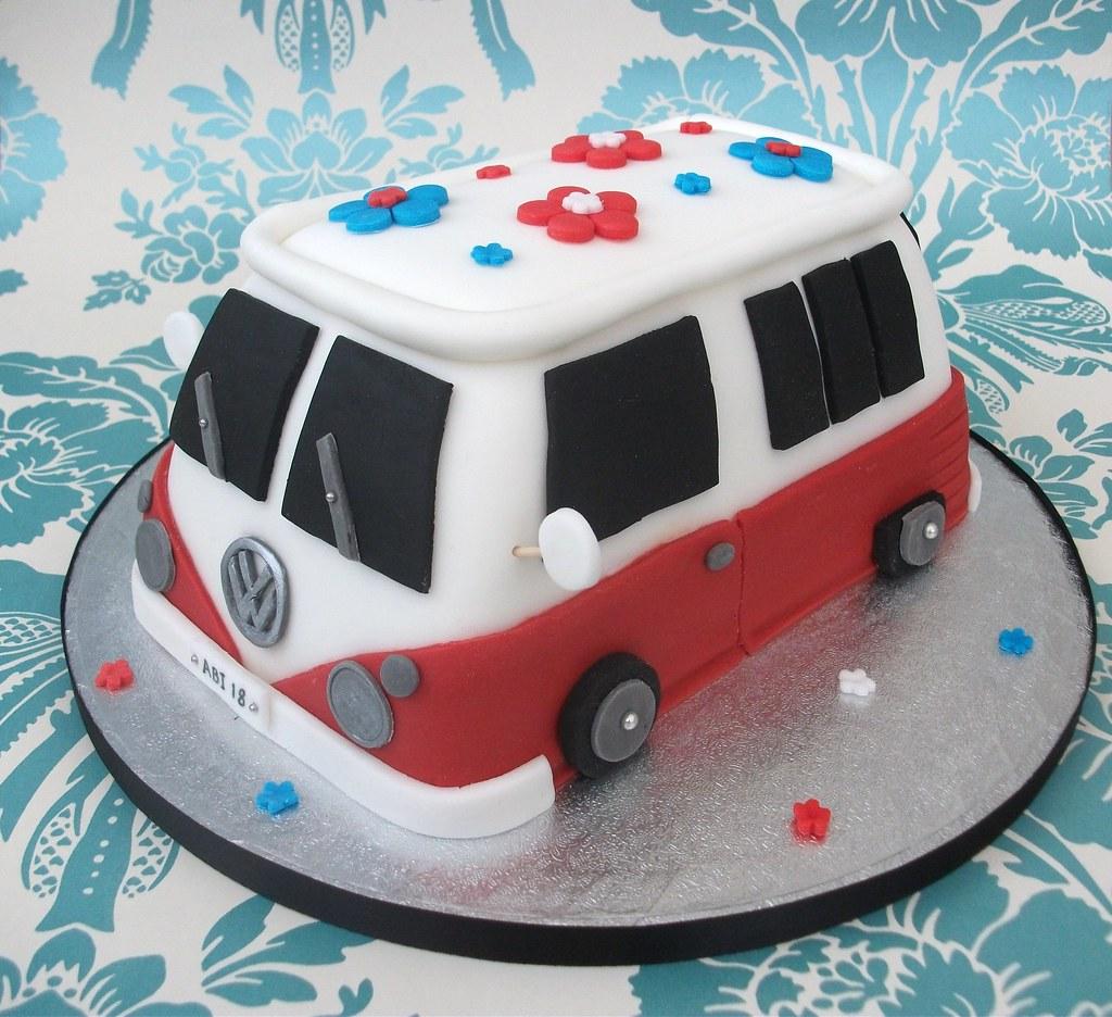 Vw Birthday Cake