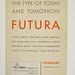 1930's Futura Specimen Booklet