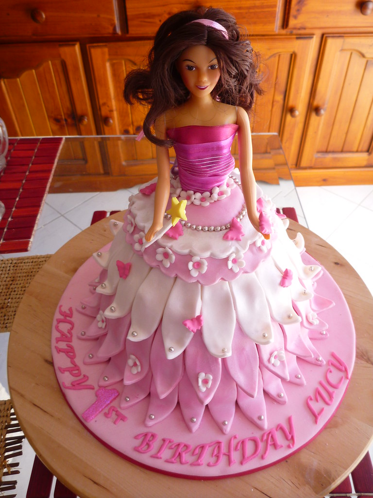 Princess Cake For A 1st Birthday Helen Flickr