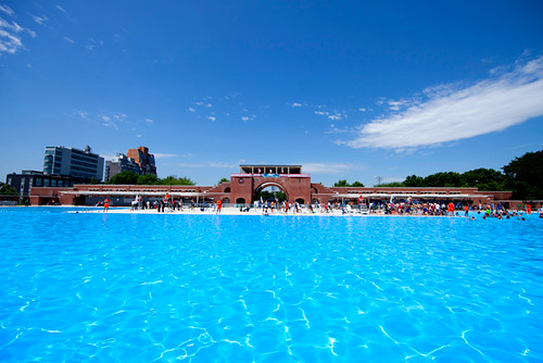 McCarren pool is now open! | by colormekatie