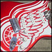 Detroit Red Wingcaster Design by Hieblinger